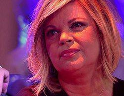 Terelu Campos abandona el plató de 'Sálvame' tras intentar impedir que entrara María Teresa