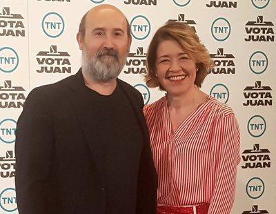 Así es 'Vota Juan', la serie original de TNT con Javier Cámara y María Pujalte