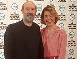 "TNT presenta su serie original 'Vota Juan' con Javier Cámara: ""Va a tener escenas casi de vergüenza ajena"""