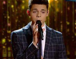 "Laura Pausini rescata a Samuel de un fallo de sonido del directo de 'Factor X': ""No se escucha nada"""