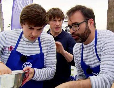 """La mala sintonía entre Jordi Cruz y Toni en 'MasterChef 6': """"No le como la oreja a nadie"""""""