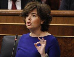 Soraya Sáenz de Santamaría presenta su candidatura para presidir el Partido Popular