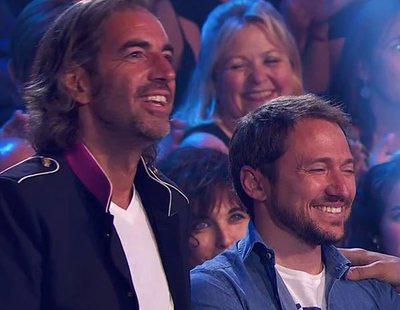 Manuel Martos y Joe Pérez-Orive ('OT 2017'), de visita en 'Bailando con las estrellas'