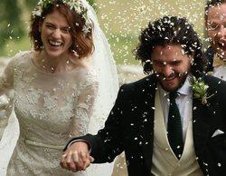 Kit Harington y Rose Leslie, actores de 'Juego de Tronos', ya son marido y mujer