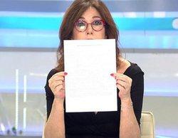 Ana Rosa, molesta porque varios medios no les han citado al hacerse eco de la carta de la víctima de La Manada