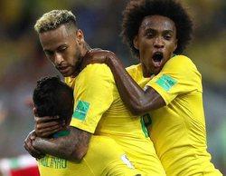 El partido Brasil - Serbia, lo más visto con un 36,6% y 'Pesadilla en la cocina' (12,5%), máximo de temporada