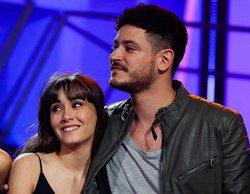 El beso de Aitana y Cepeda en los ensayos del concierto en el Bernabéu que confirma su relación