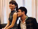 Aitana y Cepeda se besan en el concierto de 'OT 2017' en el Santiago Bernabéu