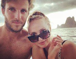 Cristina Castaño y Alex Hafner se reencuentran en Ibiza tras 'La que se avecina'