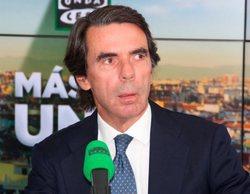 """José María Aznar asegura que RTVE tampoco era """"neutral"""" durante su mandato como presidente del Gobierno"""