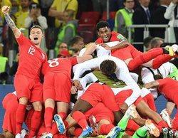 El Colombia - Inglaterra anota un increíble 42,2% y 'El cuento de la criada' firma un aceptable 13%