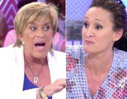 'Sálvame': Dulce y Chelo García-Cortés tienen una bronca durante la publicidad