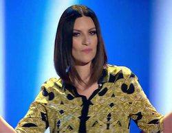 'Factor X': El falso directo de Laura Pausini con los finalistas que queda en evidencia por su cambio de ropa