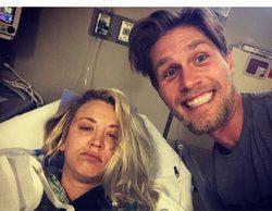 'The Big Bang Theory': Kaley Cuoco pasa su luna de miel en el hospital