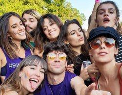Aitana, Amaia, el elenco de 'Paquita Salas' y otros rostros televisivos disfrutan del Orgullo 2018 en Madrid