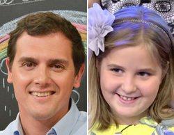 """Albert Rivera a Rocío, la niña que se hizo viral en 'Gente maravillosa': """"Es importante este tipo de ejemplo"""""""