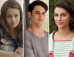 David Solans, Júlia Creus y Begoña Vargas, protagonistas de 'Boca Norte', la serie que prepara Playz