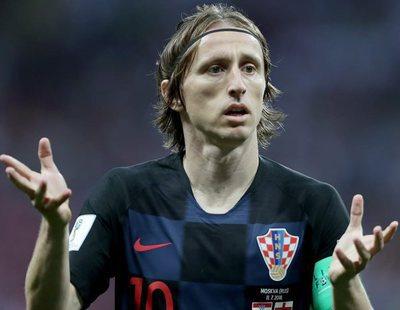 Los espectadores se indignan con Telecinco por meter publicidad en el Croacia - Inglaterra