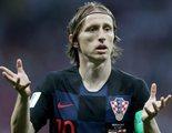 Telecinco pone publicidad en un momento decisivo del partido Croacia - Inglaterra y los aficionados reaccionan