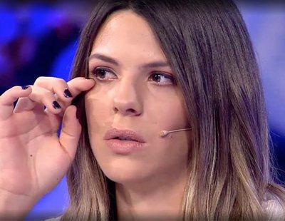 Laura Matamoros lanza una emotiva petición a su padre y se reconcilian en directo