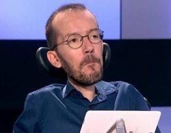 """Pablo Echenique insulta a varios colaboradores de 'Espejo público': """"No les veo muy inteligentes"""""""