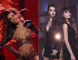 """Eleni Foureira lo da todo junto a Aitana y Ana Guerra cantando y bailando """"Lo malo"""""""