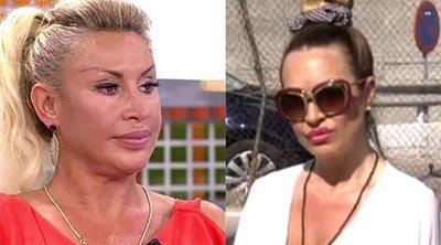 'Sálvame': La enemiga de Raquel Mosquera se presenta en Telecinco sin avisar mientras ella está en directo