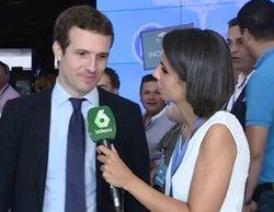 laSexta, única cadena en informar en directo de la victoria de Pablo Casado en el PP