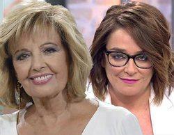 """Toñi Moreno, sobre su supuesta enemistad con María Teresa Campos: """"Hubiera preferido hacer otro horario"""""""
