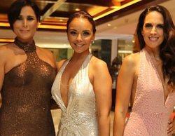 Rosa López, Chenoa y Nuria Fergó se reencuentran en una gala benéfica en Marbella