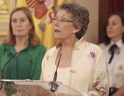"""Rosa María Mateo toma posesión de su cargo de administradora única de RTVE: """"Vamos a perseguir un sueño"""""""