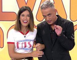 """Núria Marín toma el relevo al frente de 'Sálvame' y recibe la """"cartera de presentadora"""""""