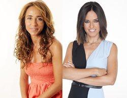 'Sálvame': Nuria Marín reta a una guerra de tobillos a María Patiño en su primer día como presentadora