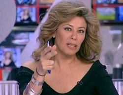 Beatriz Pérez-Aranda, pillada con un ataque de risa en el Canal 24 horas tras el error de una compañera