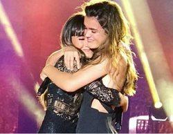 Aitana y Amaia protagonizan el momento más emotivo del concierto de 'OT 2017' en Benidorm