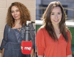 Isabel Cacho, nueva directora de Magacines de TVE, y Pilar Martín, directora de Programas de RNE