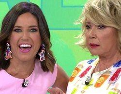 'Sálvame': Mila Ximénez y su más que fría bienvenida a Nuria Marín, la nueva presentadora
