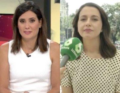 El corte de María Llapart a Inés Arrimadas en el especial por el 17A de 'Al rojo vivo'