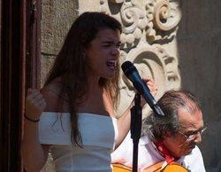 Amaia Romero ('OT 2017') desborda Pamplona con la inauguración del Festival Flamenco On Fire