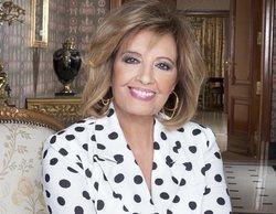 María Teresa Campos le lanza en 'Las Campos' una pullita a Paolo Vasile por no darle un nuevo programa