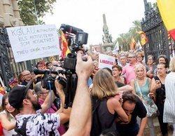 Un cámara de Telemadrid es agredido al ser confundido con uno de TV3 en una convocatoria de Ciudadanos