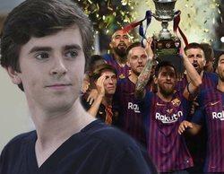 La Supercopa, 'The Good Doctor' y 'Antena 3 noticias', lo más visto en el mes de agosto