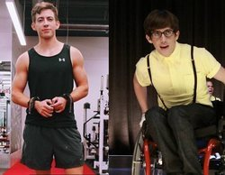 El increíble cambio físico del actor Kevin McHale ('Glee'), convertido ahora en culturista