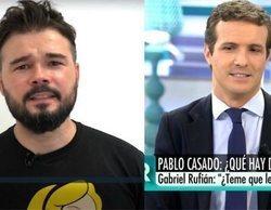 Rufián compara a Casado y Rivera con Andy y Lucas en 'El programa de Ana Rosa'