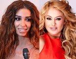 Paulina Rubio y Eleni Foureira, invitadas de la primera gala de 'Tu cara me suena 7'