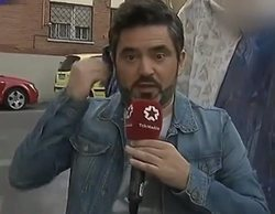 José Antonio Masegosa, al borde de la agresión al entrar en una casa okupa para un reportaje en Telemadrid