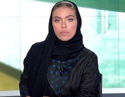 Una mujer presenta por primera vez un telediario en prime time en Arabia Saudí