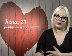 """La confesión de Irina en 'First Dates': """"Para dormir tengo que ponerme la mano en mis partes íntimas"""""""