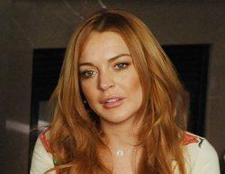 Lindsay Lohan es violentamente empujada tras intentar raptar a los niños de una familia sin techo
