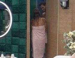 'GH VIP 6': Techi se cuela en la ducha con Asraf desnudo dentro